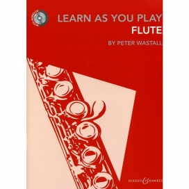 WASTALL LEARN AS YOU PLAY FLUTE + CD