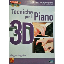 CUTULI TECNICHE PIANO 3D + CD +DVD