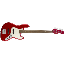 SQUIER JAZZ BASS CONTEMPORARY LAUREL MET.RED