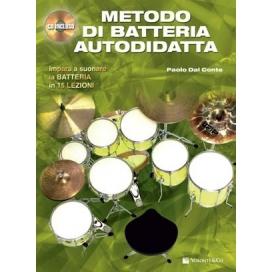 DAL CONTE METODO BATTERIA AUTODIDATTA + CD