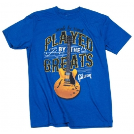 GIBSON PLAYED BY THE GREATS T ROYAL BLUE MEDIUM