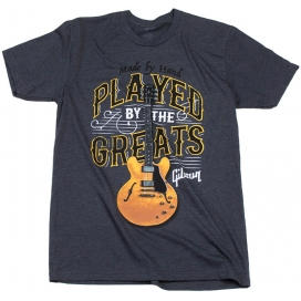 GIBSON PLAYED BY THE GREATS T CHARCOAL MEDIUM