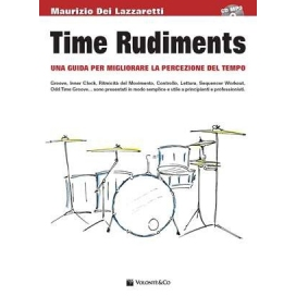 DEI LAZZARETTI TIME RUDIMENTS + CD