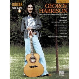 AAVV GUITAR PLAY ALONG V 142: GEORGE HARRISON + AUDIO ACC.