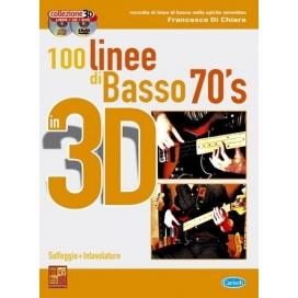 DI CHIARA 100 LINEE BASSO 70'S 3D CD+DVD ML3061