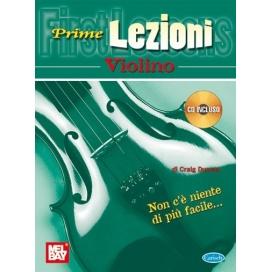 DUNCAN PRIME LEZIONI VIOLINO + CD