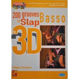 FERRANTE 200 GROOVES SLAP BASSO 3D CD+DV ML3027