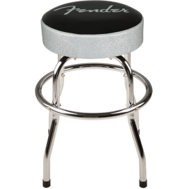 FENDER SILVER SPARKLE BAR STOOL 24""