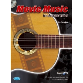 FIORENTINO MOVIE MUSIC FOR CLASSICAL GUITAR + CD ML2890
