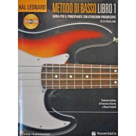 FRIEDLAND METODO PER BASSO LIBRO 1 + CD