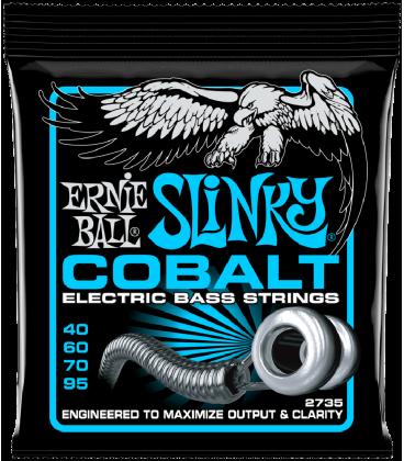 ERNIE BALL 2735 COBALT EXTRA SLINKY BASS