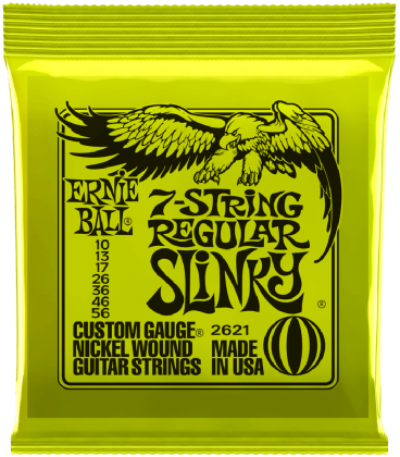 ERNIE BALL 2621 7R SET SL NKL10-56