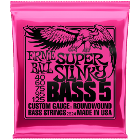ERNIE BALL 2824 5S SET SL NKL 40-125