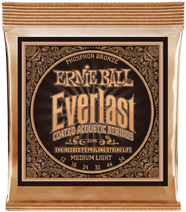 ERNIE BALL 2546 EVERLAST PHOSPHOR BRONZE MEDIUM LIGHT