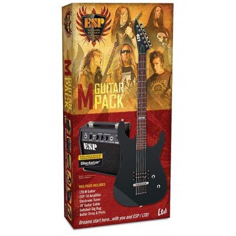ESP LTD M-10 BLACK GUITAR PACK