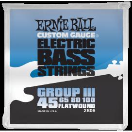 ERNIE BALL 2806 FLAT WOUND 0.45/100