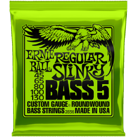 ERNIE BALL 2836 5R SET SL NKL 45-130