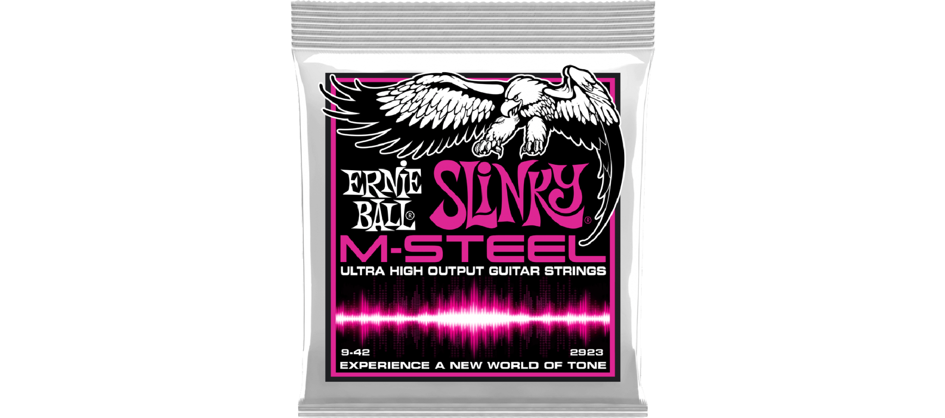 ernie ball 2923 m steel super slinky luckymusic. Black Bedroom Furniture Sets. Home Design Ideas
