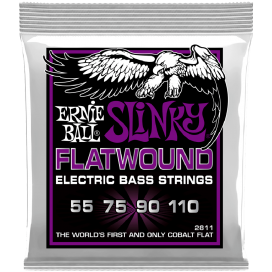 ERNIE BALL 2811 FLATWOUND POWER SLINKY BASS
