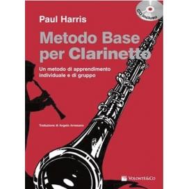 HARRIS METODO BASE CLARINETTO CD
