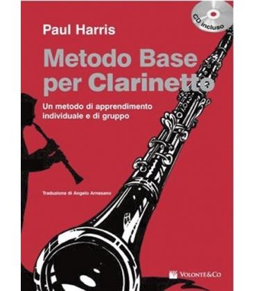 HARRIS METODO BASE CLARINETTO CD MB119