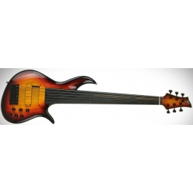 F BASS BNF5 SUNBURST EBONY FINGERBOARD