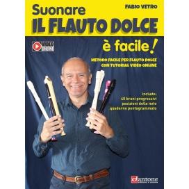 VETRO SUONARE IL FLAUTO DOLCE - DITEGGIATURA TEDESCA
