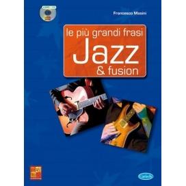 MASINI LE PIU' GRANDI FRASI JAZZ PER CHITARRA + CD