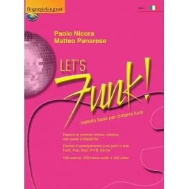 NICORA LET'S FUNK: METODO BASE PER CHITARRA FUNK + AUDIO ON-LINE