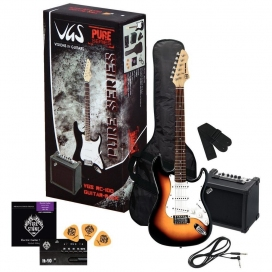 VGS RC-100 GUITAR PACK 3-TONE SUNBURST