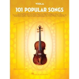 AAVV 101 POPULAR SONGS FOR VIOLA