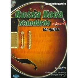 ONGARELLO BOSSA NOVA STANDARDS VOLUME 2 + CD