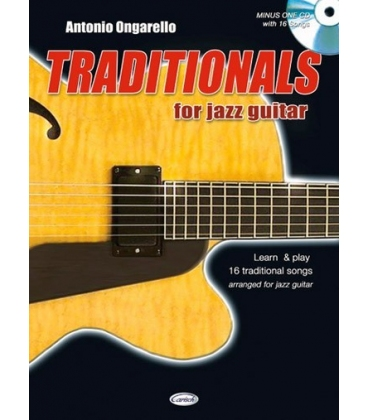 ONGARELLO TRADITIONALS FOR JAZZ GUITAR +CD