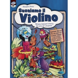 ORSINI SUONIAMO VIOLINO + CD