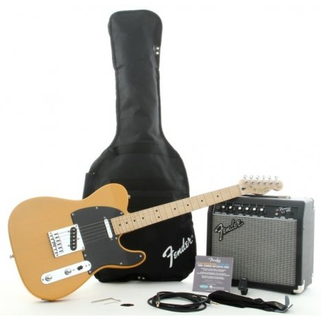 SQUIER AFFINITY TELECASTER PACK 15G BLONDE