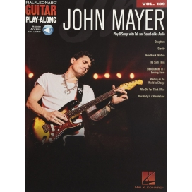 AAVV GUITAR PLAY ALONG VOL 189: JOHN MAYER + AUDIO ON-LINE