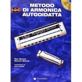 MANUS/MANUS METODO DI ARMONICA AUTODIDATTA + CD
