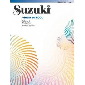 SUZUKI VIOLIN SCHOOL VOLUME 1 + CD