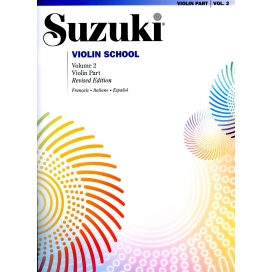 SUZUKI VIOLIN SCHOOL VOLUME 2 + CD
