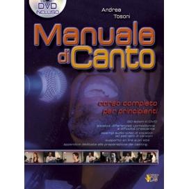 TOSONI MANUALE DI CANTO + DVD