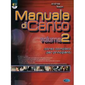 TOSONI MANUALE DI CANTO VOLUME 2 + DVD