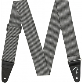 FENDER STRAP MODERN TWEED GREY BLACK