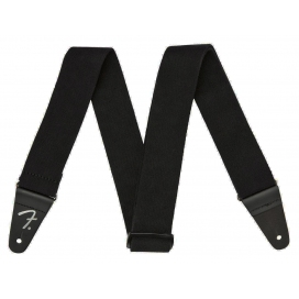 FENDER STRAP SUPERSOFT BLACK 2""
