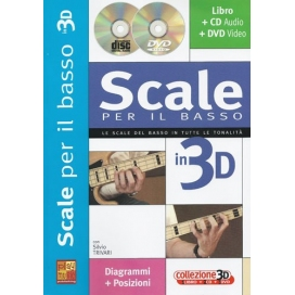 TRIVARI SCALE BASSO 3D+CD+DVD