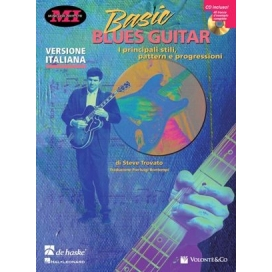 TROVATO BASIC BLUES GUITAR + CD ITA