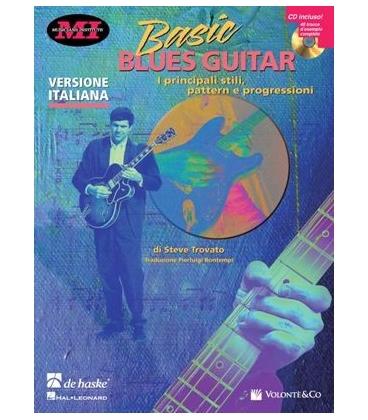 TROVATO BASIC BLUES GUITAR + CD ITA