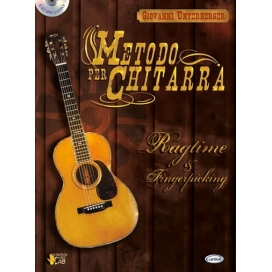 UNTERBERGER METODO CHITARRA RAGTIME + CD