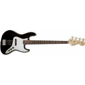 SQUIER AFFINITY JAZZ BASS BLACK RW