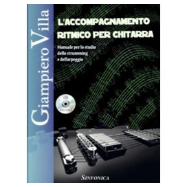 VILLA ACCOMPAGNAMENTO RITMICO PER CHITARRA + CD