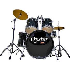 OYSTER F100 BATTERIA 5 PEZZI BLACK